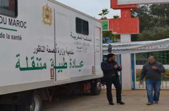بالصور.. وزارة الصحة تنظم قافلة طبية بالناظور