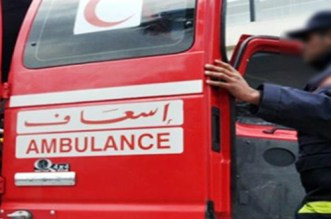 حادث اصطدام بتارودانت يتسبب في إصابة شخصين