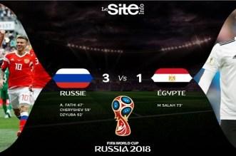 بالفيديو.. روسيا تدك شباك مصر بثلاثية في ثاني مبارياتها بالمونديال
