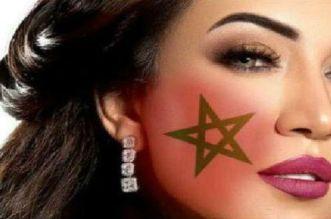 أسماء المنور تنضم لقائمة المشجعين المغاربة بروسيا