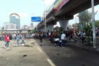 قتلى في انفجار أثناء تجمع مؤيد لرئيس الوزراء الإثيوبي الجديد