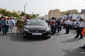 تمثيل أطوار جريمة قتل امرأة طعناً ودهساً بأكادير
