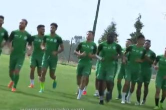بالفيديو.. استعدادات الرجاء لمواجهة أسيك ميموزا الايفواري