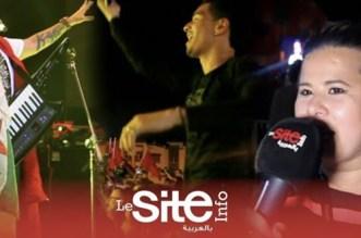 بالفيديو – رضا الطلياني والعلم الجزائري بوجدة