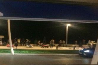الهجرة السرية.. قارب يحط ليلا بشاطئ مارتيل -صور