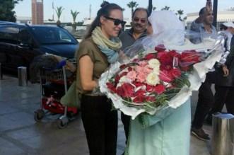 """بالفيديو.. استقبال حار للمغاربة لبطلة """"سامحيني"""""""