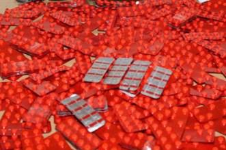 توقيف سيدة ستينية بحوزتها كمية كبيرة من الأقراص المهلوسة