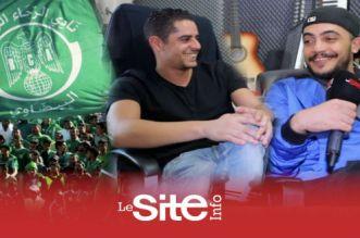 بالفيديو – سندباد.. شاب يهدي لاعبي الرجاء البيضاوي أغنية حماسية