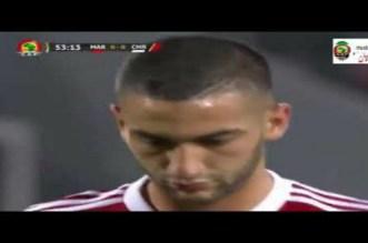 بالفيديو.. هدف زياش في مرمى الكاميرون