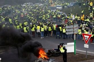 """فرنسا.. إجراءات أمنية مشددة تحسبا لمظاهرات الأسبوع الخامس """"للسترات الصفراء"""""""