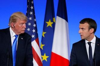 حرب التصريحات بين فرنسا ودونالد ترامب