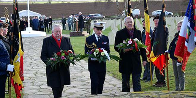 بلجيكا تخلذ ذكرى مقتل المئات من الجنود المغاربة الذين حرّروها