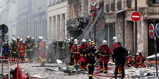 مغربيان ضمن المصابين في حادث انفجار بباريس