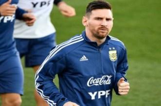 ميسي يغادر مران منتخب الأرجنتين بداعي الإصابة