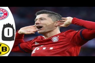 بالفيديو.. أهداف مباراة بايرن ميونيخ ودورتموند 5-0