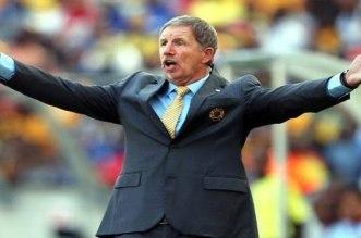 """مدرب جنوب افريقيا يتوعد رونار و""""أسود الأطلس"""""""