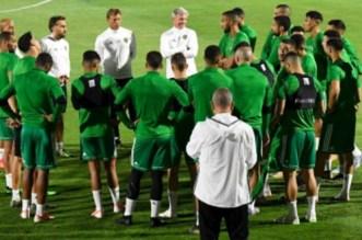 """""""أسود الأطلس"""" يخوضون أول حصة تدريبية بمصر.. ونجم أياكس أمستردام يغيب للإصابة"""