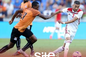 أهداف مباراة منتخب المغرب ونظيره الزامبي