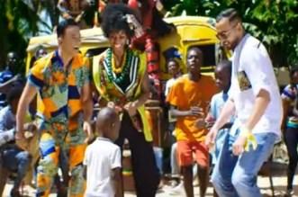ريدوان وأمينوكس يحتفلان بإفريقيا- فيديو