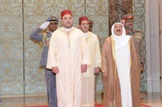 الملك محمد السادس يبعث رسالة إلى أمير الكويت لتعافيه من عارض صحي
