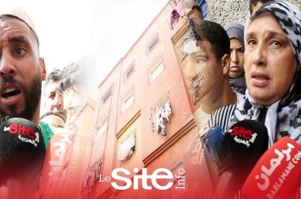"""شهود عيان على""""حادث أناسي"""": السيدة لاحت أولادها من السطح ديال العمارة وهي وراجلها الله يعمرها دار – فيديو"""