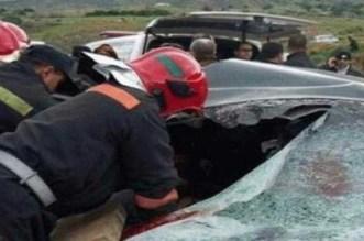 إصابة 7 أشخاص من بينهم حامل في حادثة سير مروعة ببني ملال