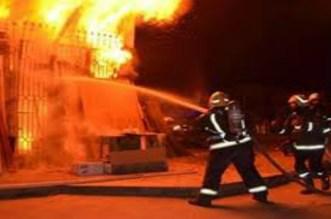اندلاع حريق مهول في حمام شعبي بمراكش