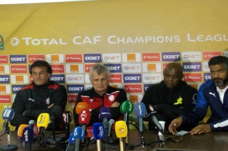 """موسيماني: """"راض عن نقطة من المغرب..وكنت سعيدا لخروج هذا اللاعب الودادي"""""""