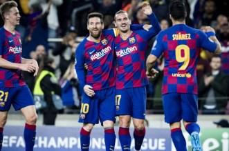 ميسي ينقذ برشلونة من فخ غرناطة