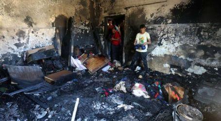 قام مستوطنون بإحراق منزل الشاهد الوحيد على جريمة دوابشة
