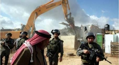 الاحتلال يشرع بعمليات هدم في خربة طانا