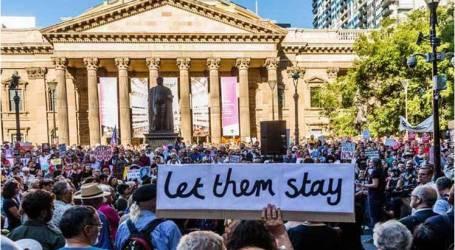احتجاجات بأستراليا ضد قانون يمنع منح تأشيرات للاجئين