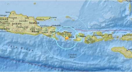 زلزال بقوة 6.4 درجة بمقياس ريختريضرب بالي