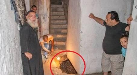 انهيار سقف منزل بسبب حفريات الاحتلال قرب الأقصى
