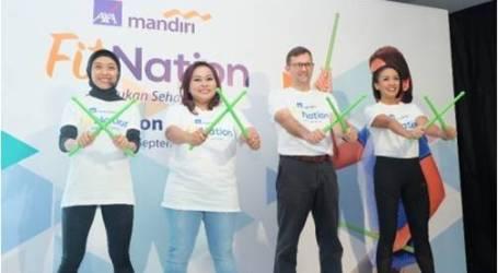 حملة أكسا مانديري فيتناتيون تشجع الناس على أسلوب صحي للحياة