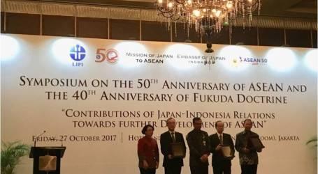 رئيس الوزراء الياباني السابق يدعو رابطة دول جنوب شرق آسيا إلى مزيد من التعاون