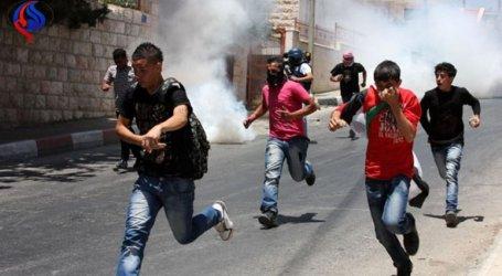 قوات الاحتلال تعتدي على طلبة المدارس جنوب نابلس