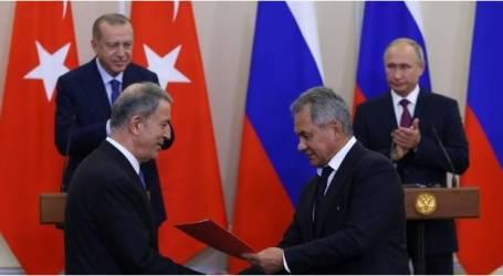 مذكرة تفاهم تركية روسية لضمان استقرار الوضع بإدلب