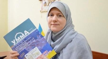 اوكرانية مسلمة تنتصر للحجاب في معركة قضائية