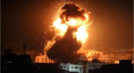 الجيش الإسرائيلي يقصف موقعين لحماس جنوبي غزة