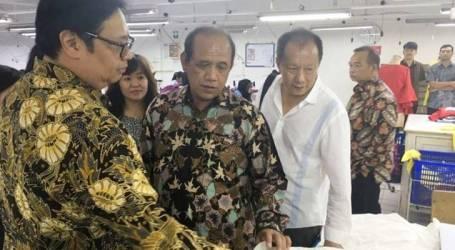 وصل نمو صناعة النسيج والملابس أعلى نسبة مسجلة في إندونيسيا