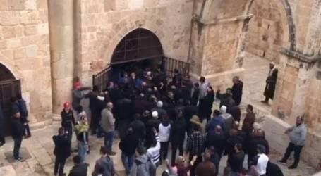 الاحتلال يقتحم مصلى باب الرحمة في المسجد الأقصى