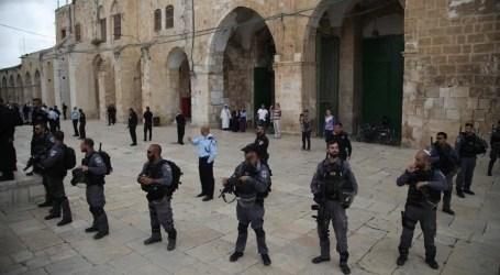 فلسطين: 14إصابة باعتداءت إسرائيلية على فلسطينيين بعد صلاة العيد بـ الأقصى