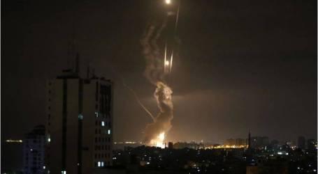 الجيش الإسرائيلي يقصف موقعين فلسطينيين بغزة