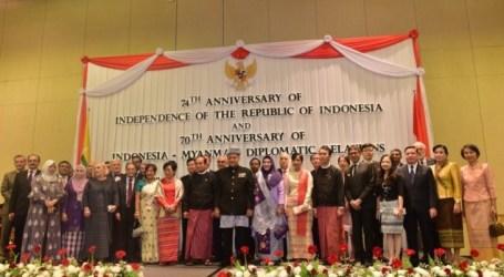 إندونيسيا وميانمار تحتفلان 70 عاما من العلاقات الدبلوماسية