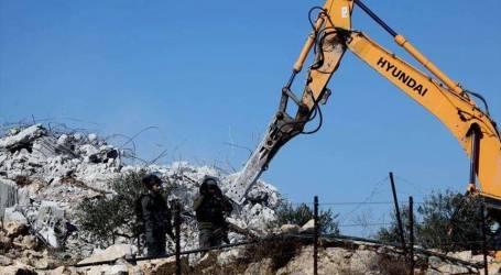 الجيش الإسرائيلي يهدم منزلا خامسا في الضفة الغربية