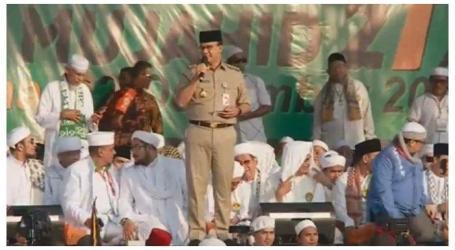 حاكم جاكرتا : اجتماع 212 رسالة الأمن و السلام