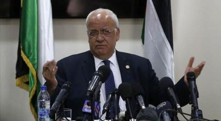 عريقات: ضم إسرائيل لأراض فلسطينية يعني انسحابها من أوسلو