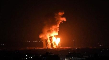 """الجيش الإسرائيلي يقصف موقعين لـ""""القسام"""" في غزة"""