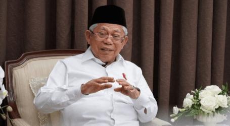 نائب الرئيس معروف أمين يهدف أن تكون إندونيسيا أكبر منتج الحلال في العالم